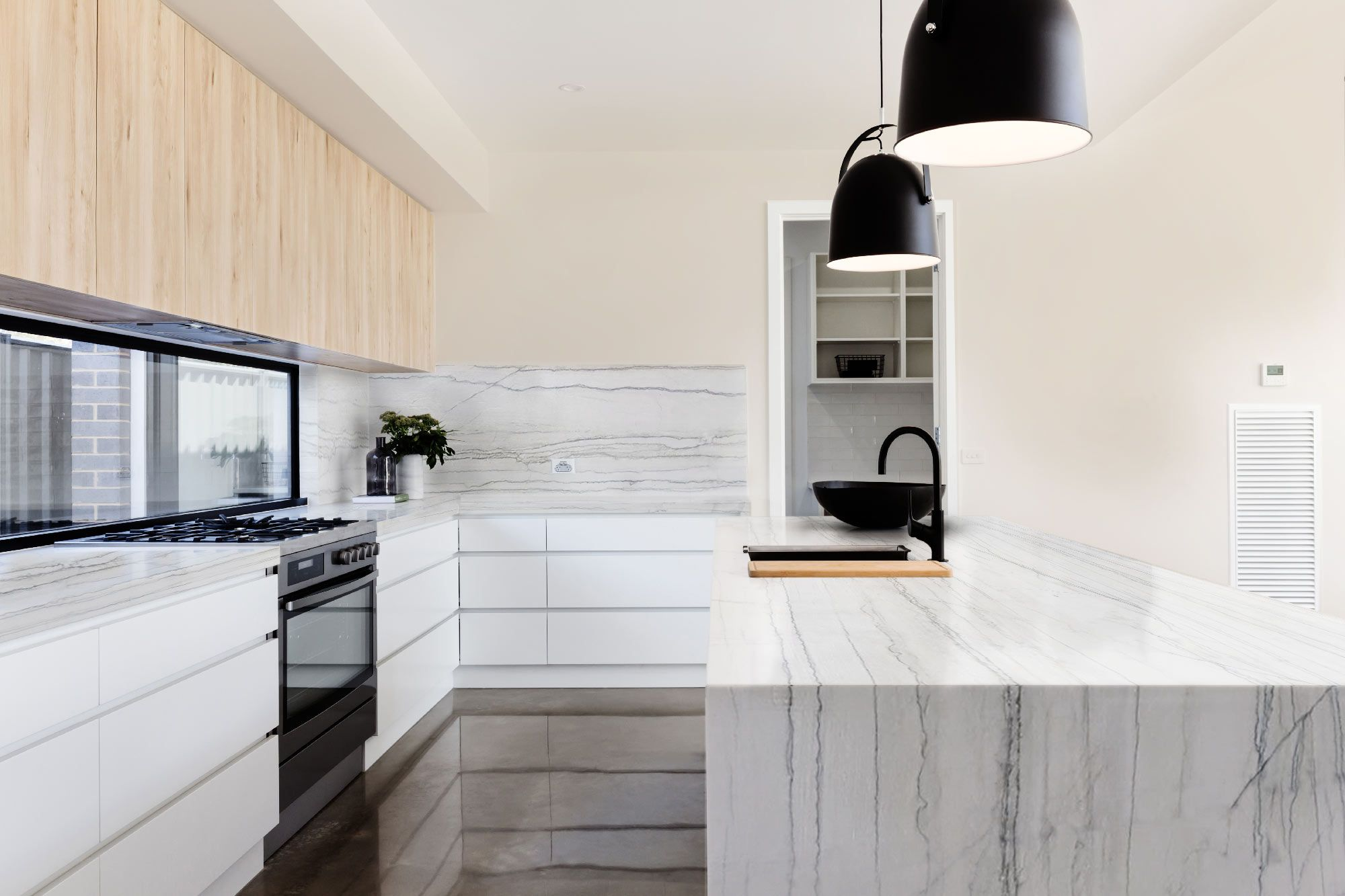 Top Piano Cucina.Piano Cucina In Quarzite White Macaubas Kitchen Top In