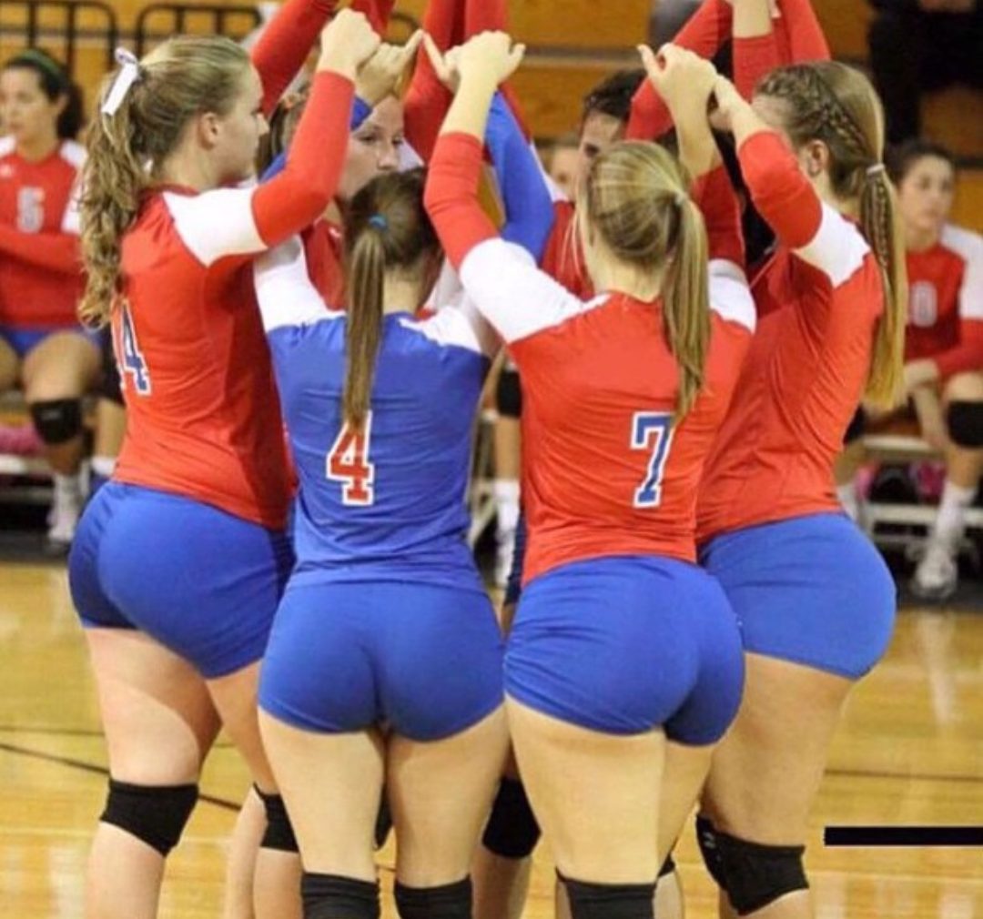 Big booty volleyball
