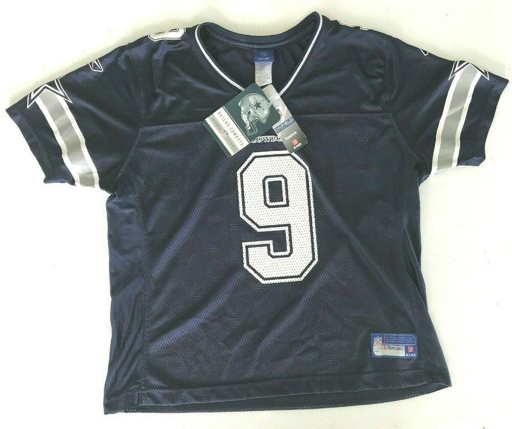 size 40 1dd17 efc82 Details about NEW Rbk NFL On Field DALLAS COWBOYS #9 TONY ...