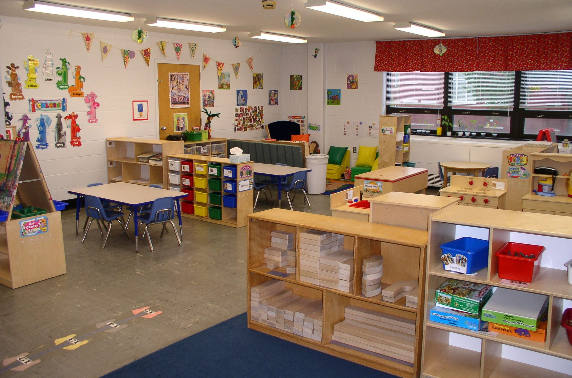 Classroom Design In Kindergarten ~ Ywca elmira nice layout classroom designs for