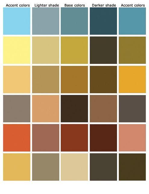 Image Result For Rustic Color Scheme