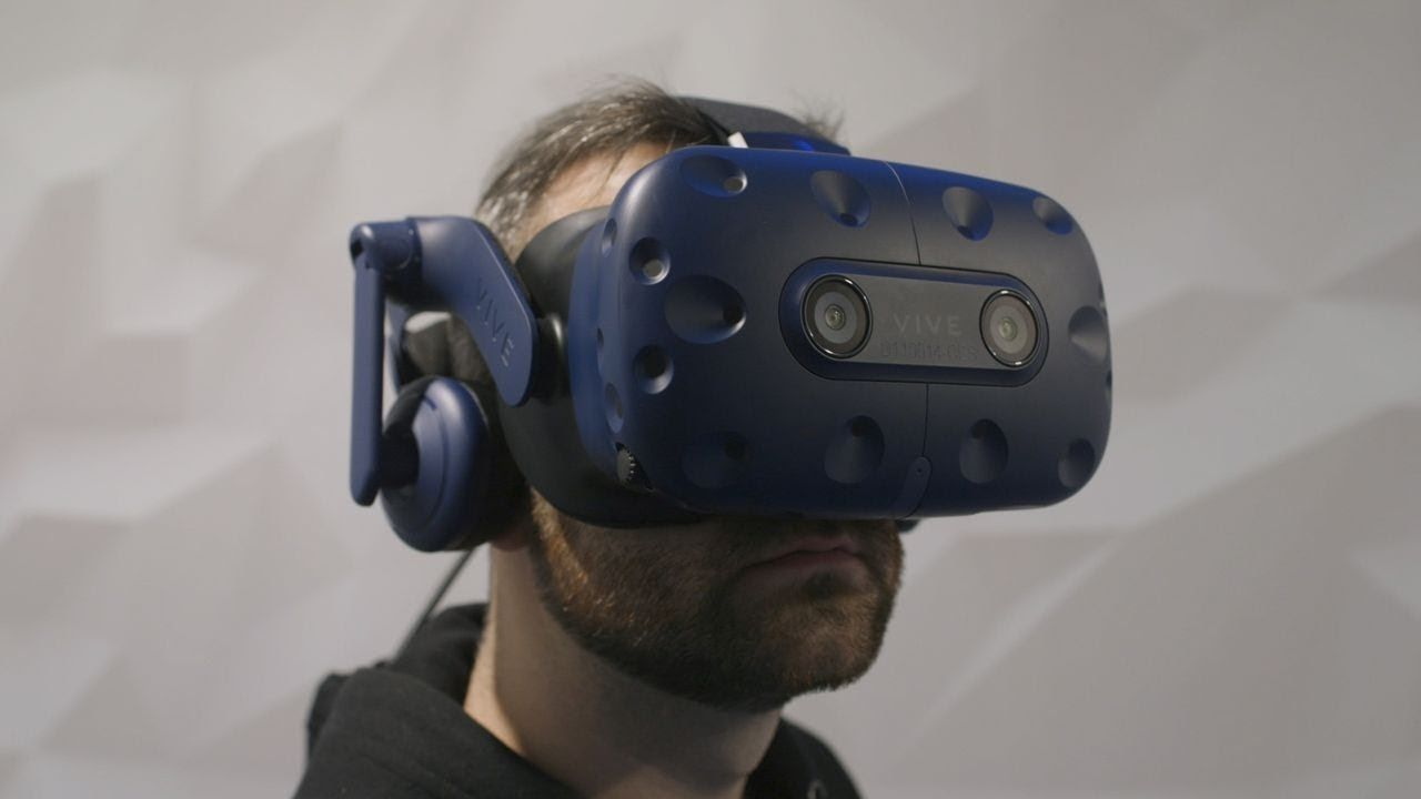 HTC Vive Pro Eye hands-on: first VR headset with eye