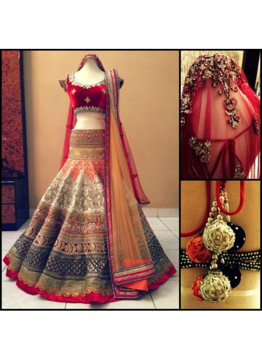 c075717b3b3b5 Fabboom-Latest-Red-and-Off-Whites-Beautiful-Designer-Lahenga-Choli ...