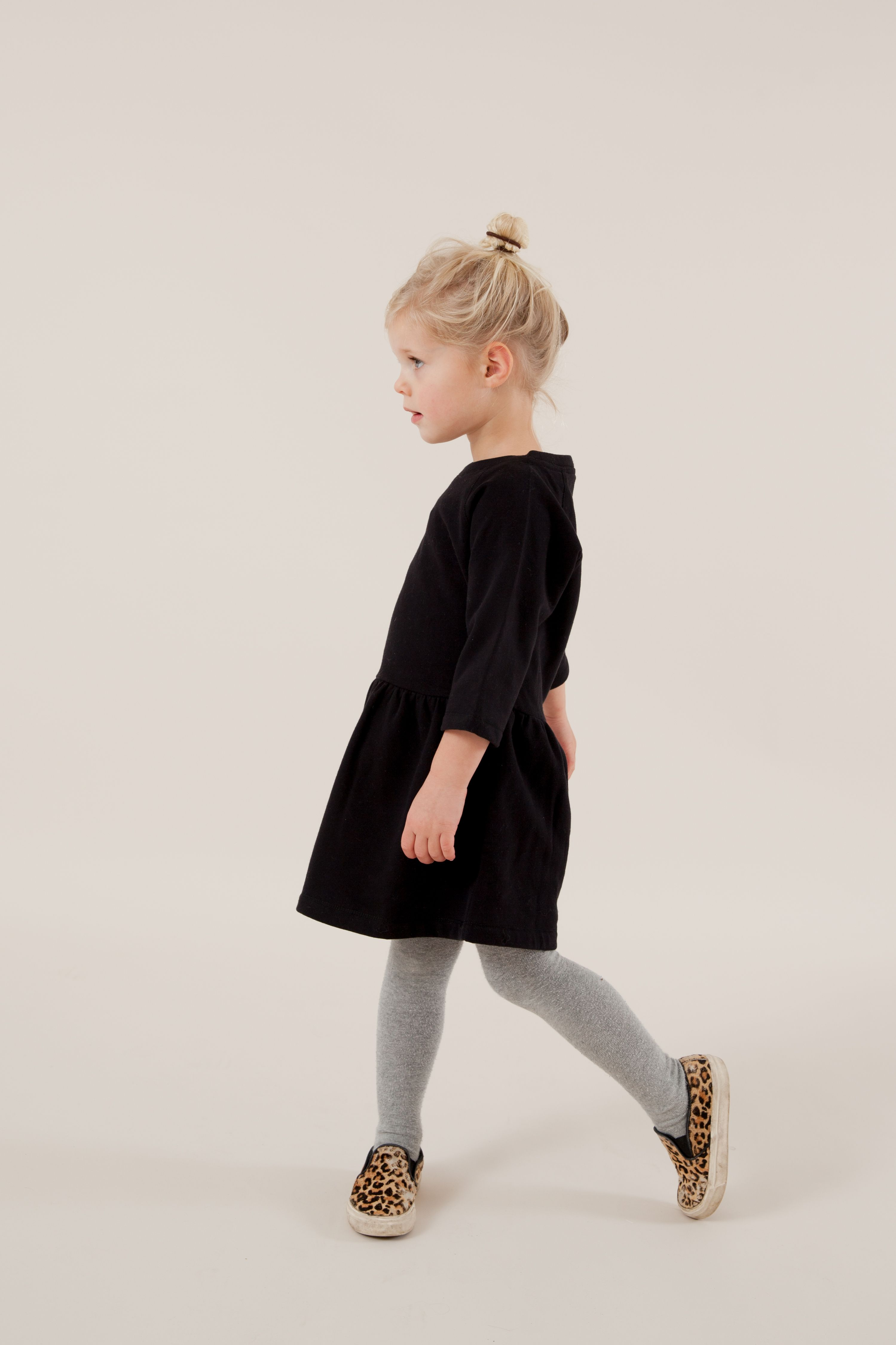 Kinderkleding Webshop.Gray Label Aw15 Dress Nearly Black Autumn Winter Dress