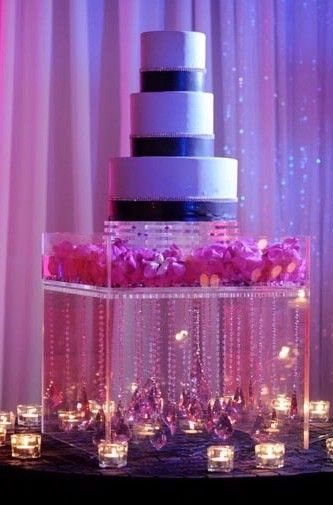 Please Helpdiy Hanging Crystal Cake Stand Wedding Acrylic