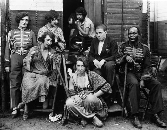 August Sander, Circus Artists (1926-1932)