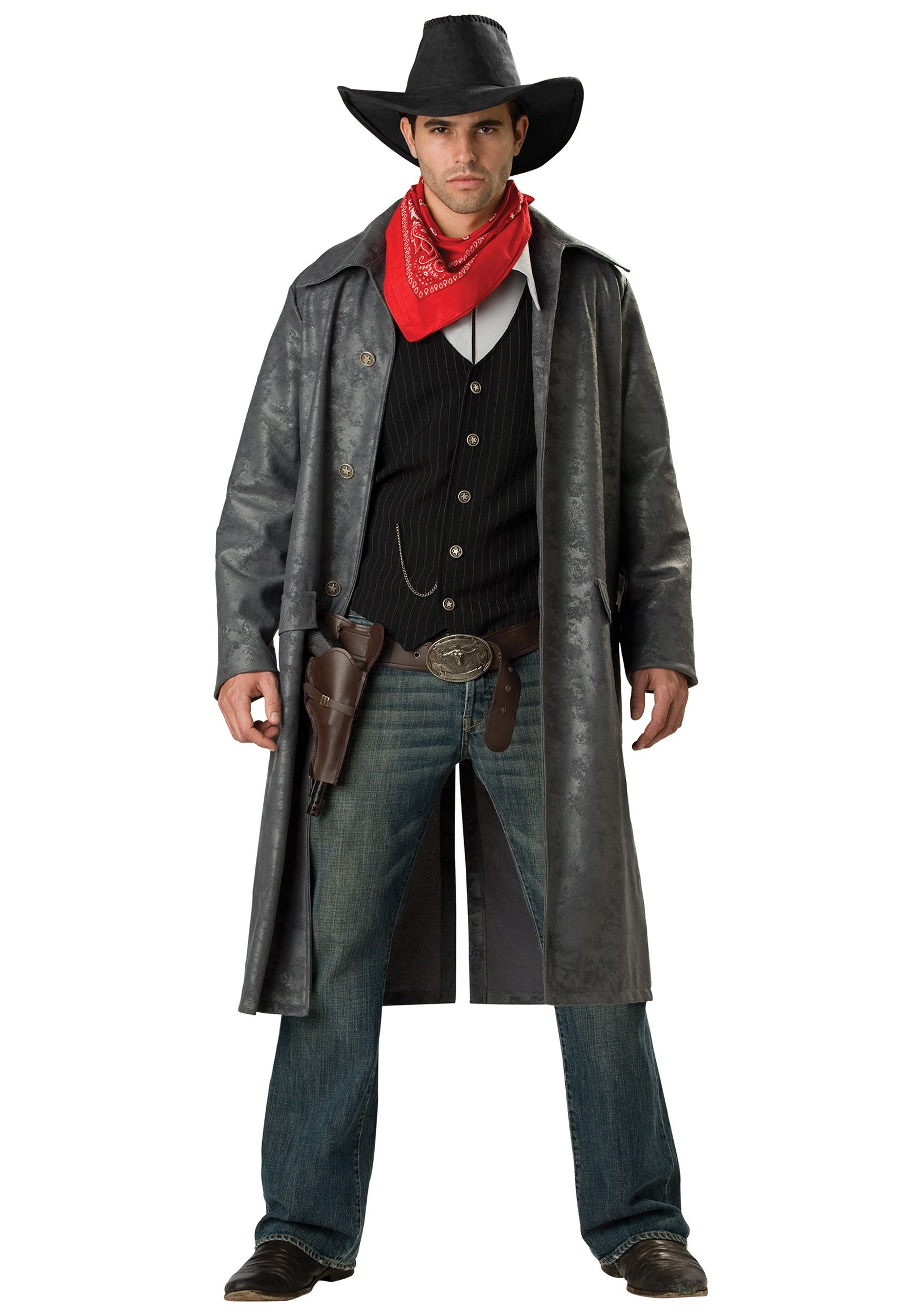 halloween costumes for guys wild west outlaw costume for men deluxe mens outlaw costume