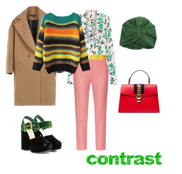 """Spring contrast"" by ira-trutneva on Polyvore featuring мода, Prada, Gucci, Racil и Ralph Lauren"