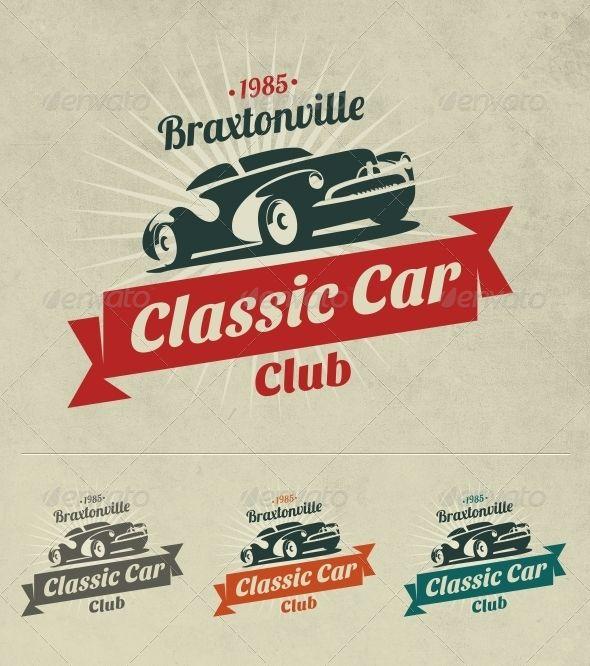 Classic Car Logo | Car logos, Logo google and Logos