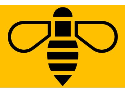 Manchester Bee Free Vector Graphics Manchester Logo Vector Logo Bee Icon