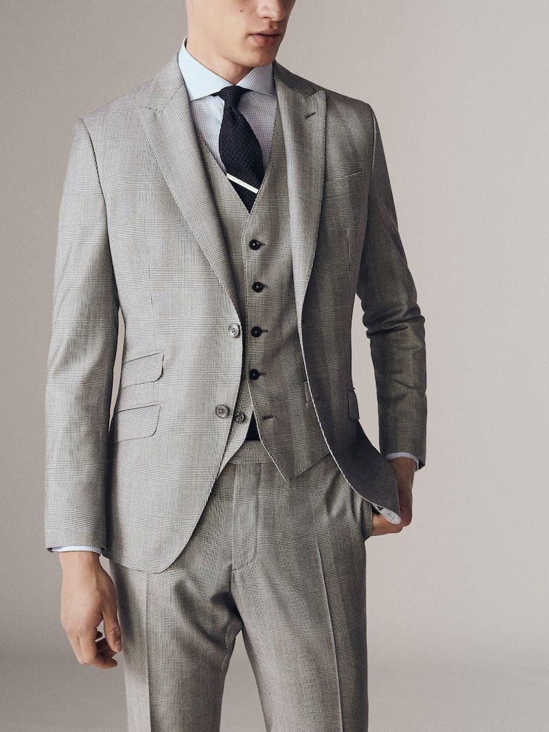 Trajes De Hombre Massimo Dutti Rebajas Invierno Ropa De Hombre Casual Elegante Ropa De Hombre Trajes De Hombre