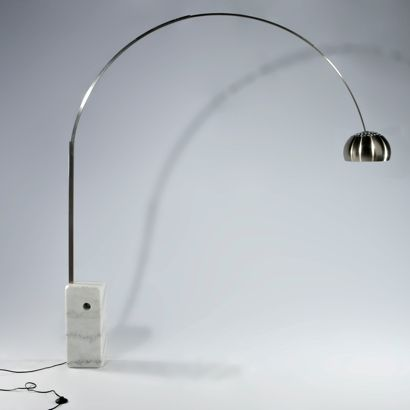 ARCO FLOOR LAMP Italian design at it\'s best. This is one of the ...