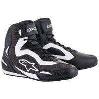 Photo of Alpinestars Men's Faster-3 Rideknit Black / White Shoes – 2510319-12-7