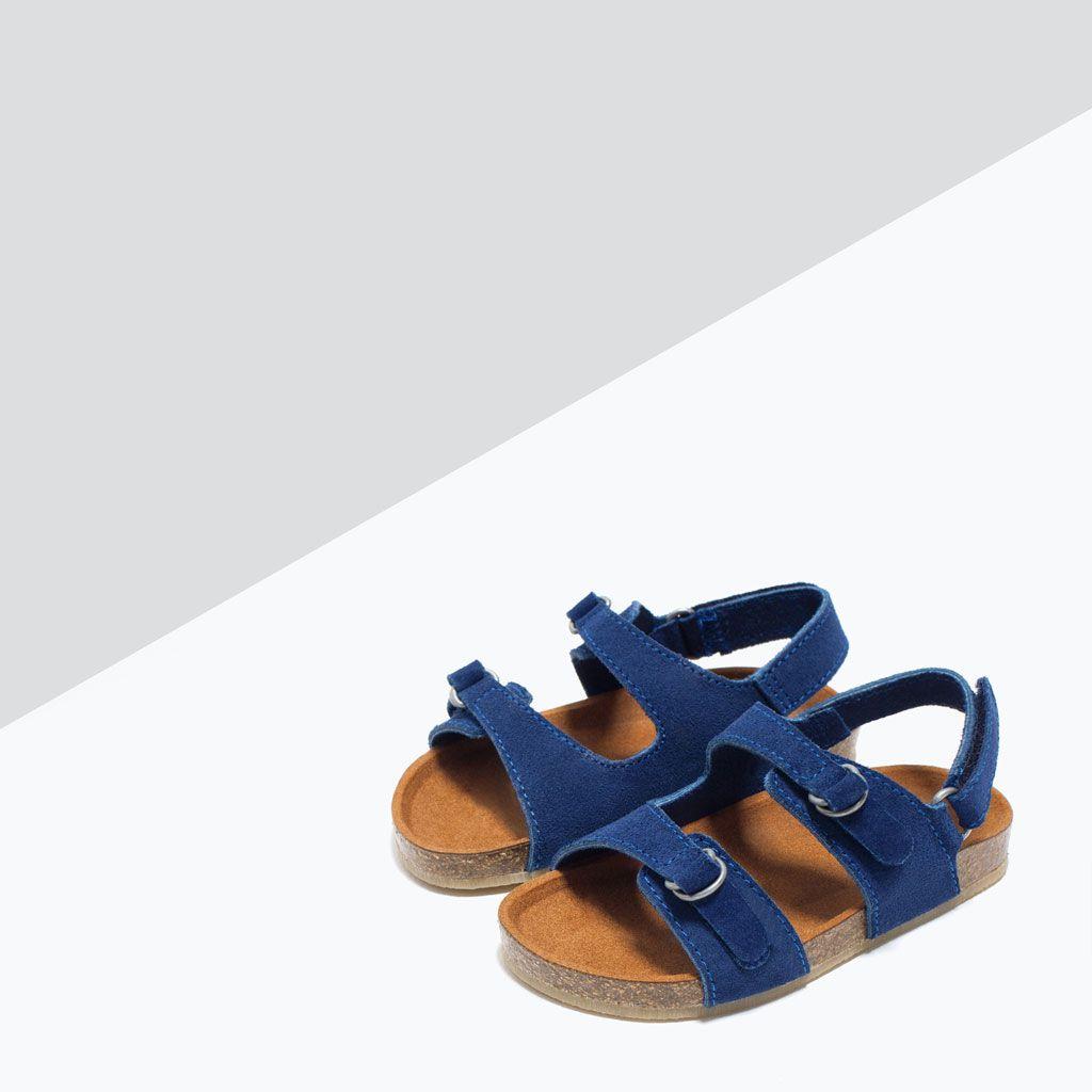 ZARA CRIANÇAS BIO SANDÁLIA BIO CRIANÇAS PELE Must have <3 <3 <3 Zapatos 1c2934