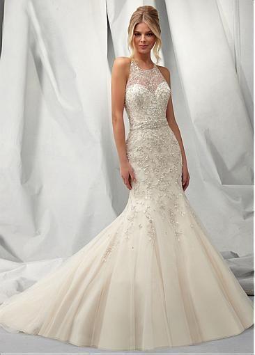 vestido de novia corte sirena | bodatotal | wedding dress