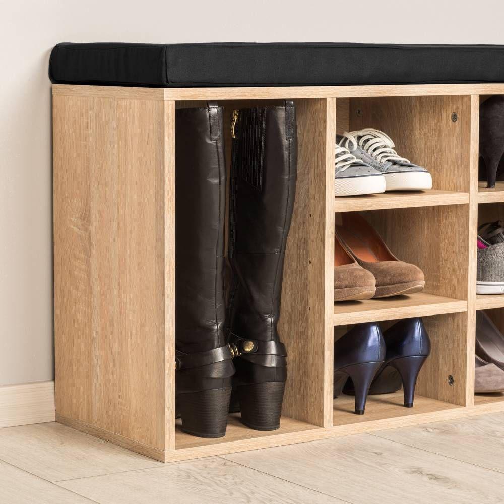 Schuhschrank Mit Sitzkissen Gunstig Online Kaufen Tectake