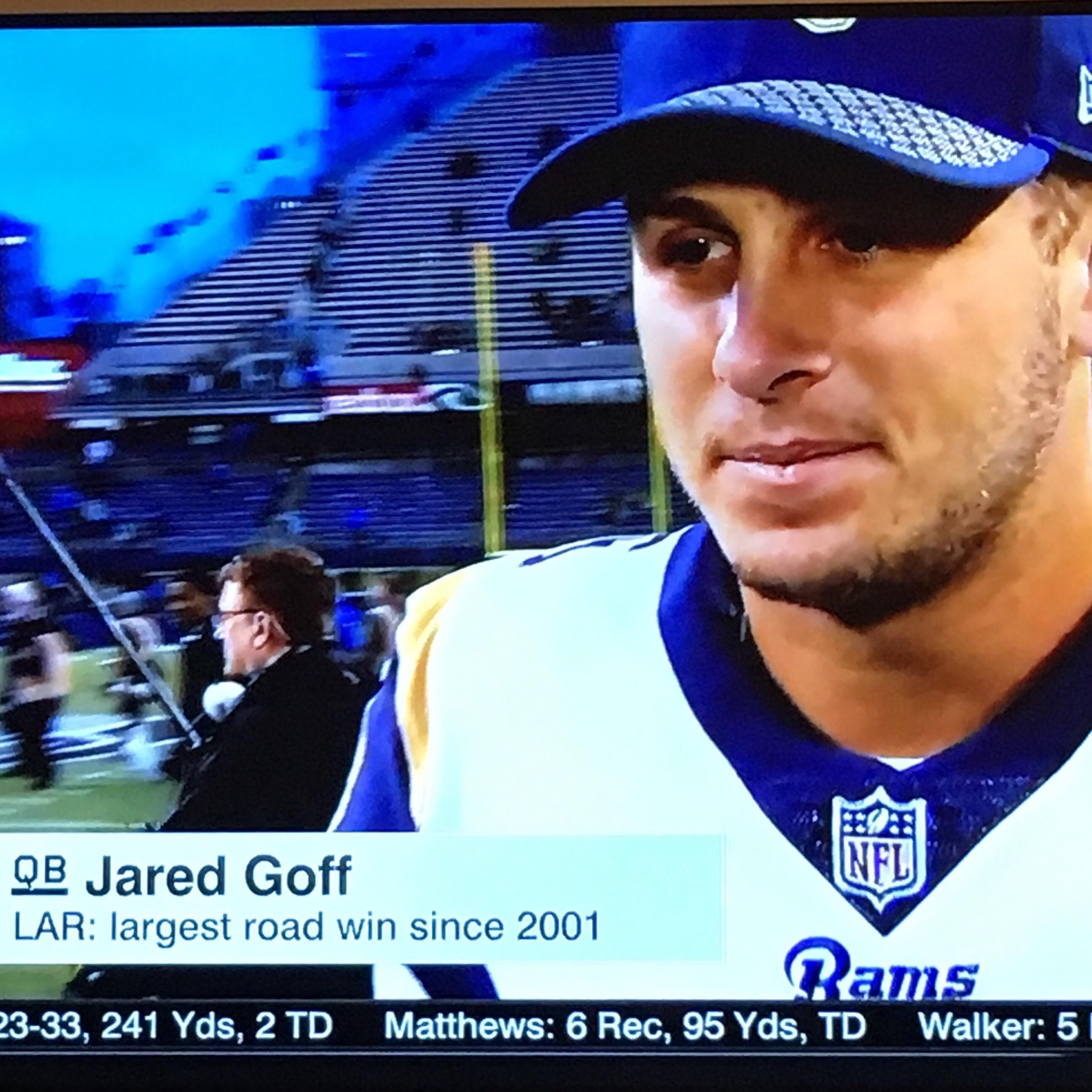 Ryan Gosling Plays Qb For The La Rams Jared Goff Cute Posts La Rams