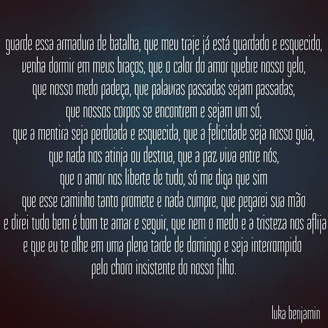 #amor #euamo #instafrases #instafrase #amar #amore #frasesdodia #frasedodia #frase #frases #amei #amo #amores #amordaminhavida #euteamo #instalove #instalovers #literatura #leitura #poemas #poema #poesia #poesias #instapoema #instapoesia #texto #cronica #cronicas