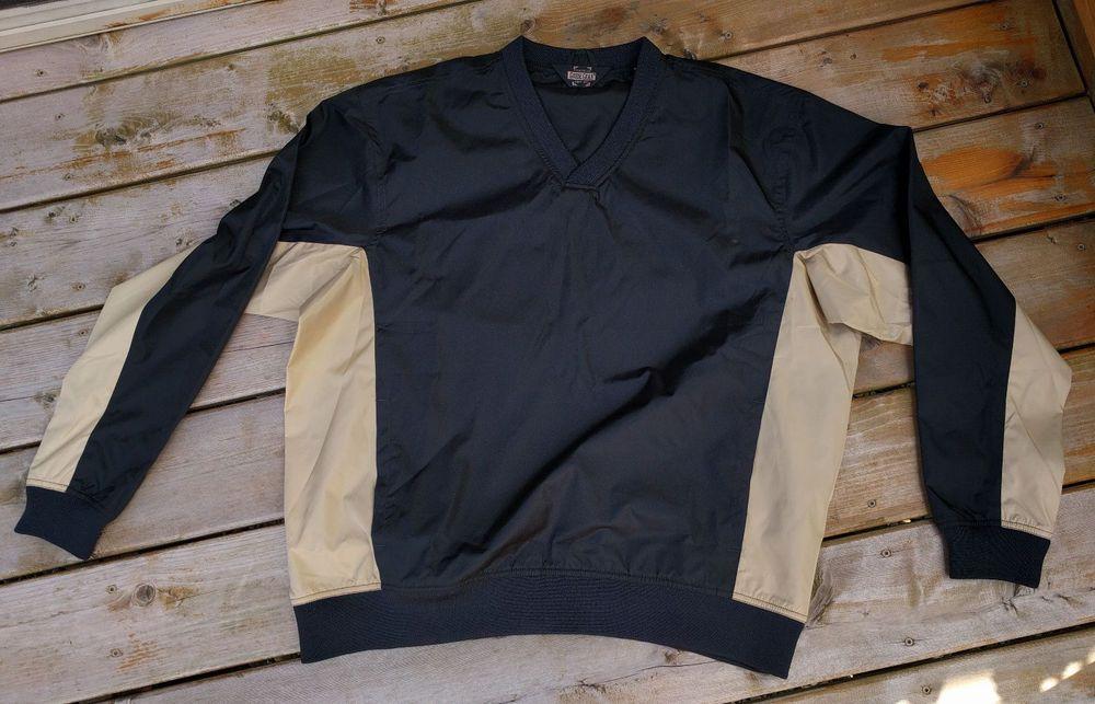 Field Tested Guide Gear Mens Windbreaker Jacket Black