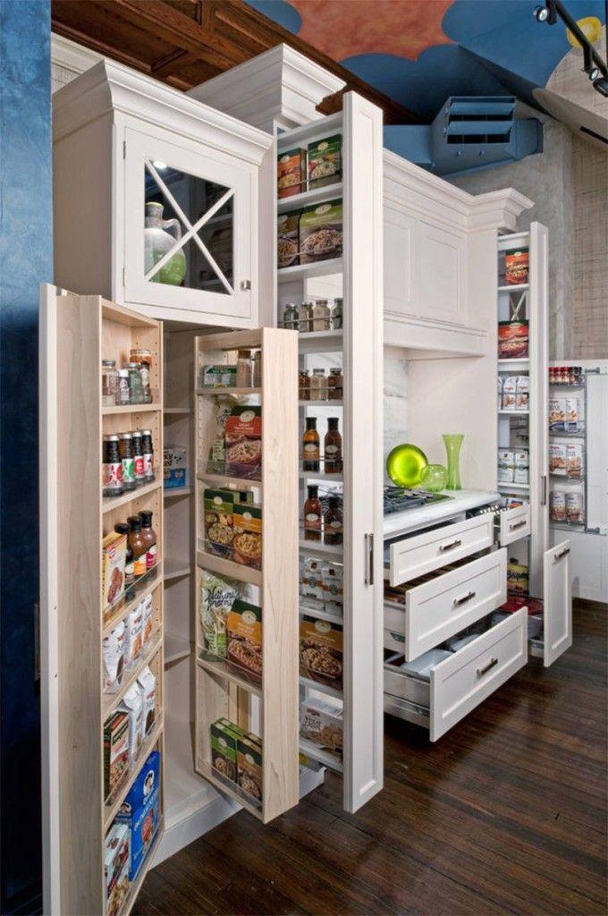 20 despensas super organizadas para voc se inspirar Smart kitchen