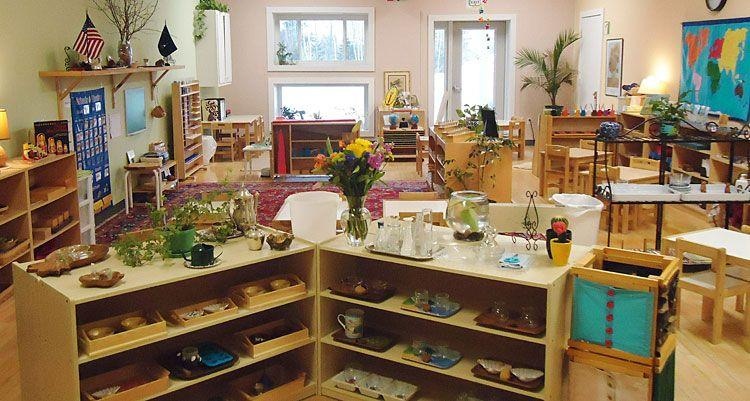 A beautiful montessori classroom classroom environments for Raumgestaltung reggio