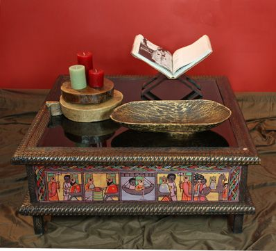Handmade Ethiopian Furniture Including Dining Tables Coffee
