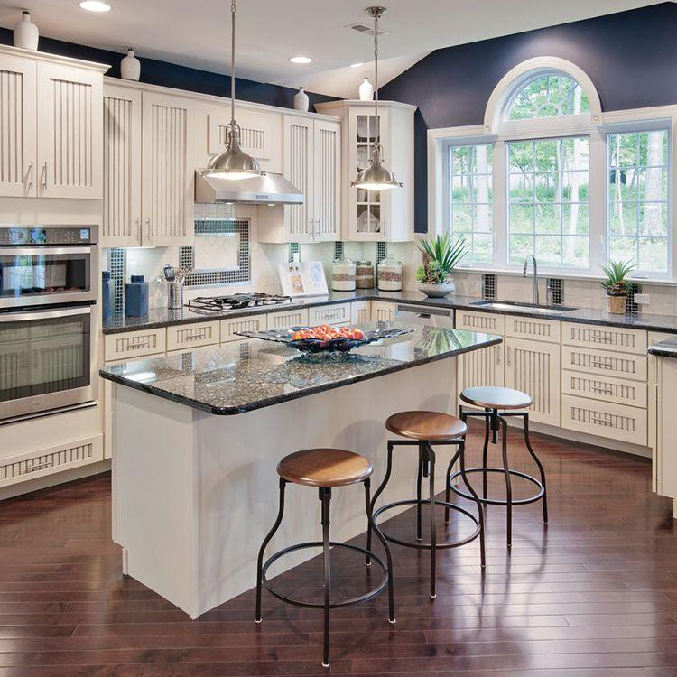 9 Vital Elements To Include In Your Farmhouse Kitchen: Progress P5188-09 Fresnel Lens Single-Light Pendant