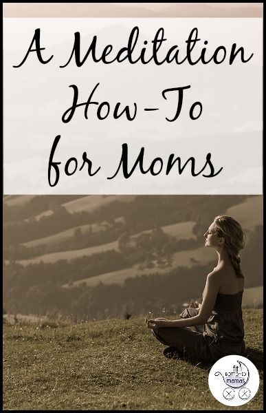 If you've always wanted to try meditating but had no clue where to start, start here! #mommymeditation