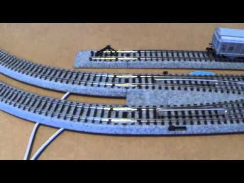 kato unitrack dcc wiring for small layout n scale - youtube n scale model  trains,