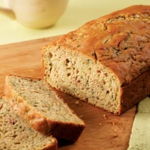 If you have a lot of zucchini from the garden, why not make a delicious, healthy loaf of EatingWell's Zucchini Bread?