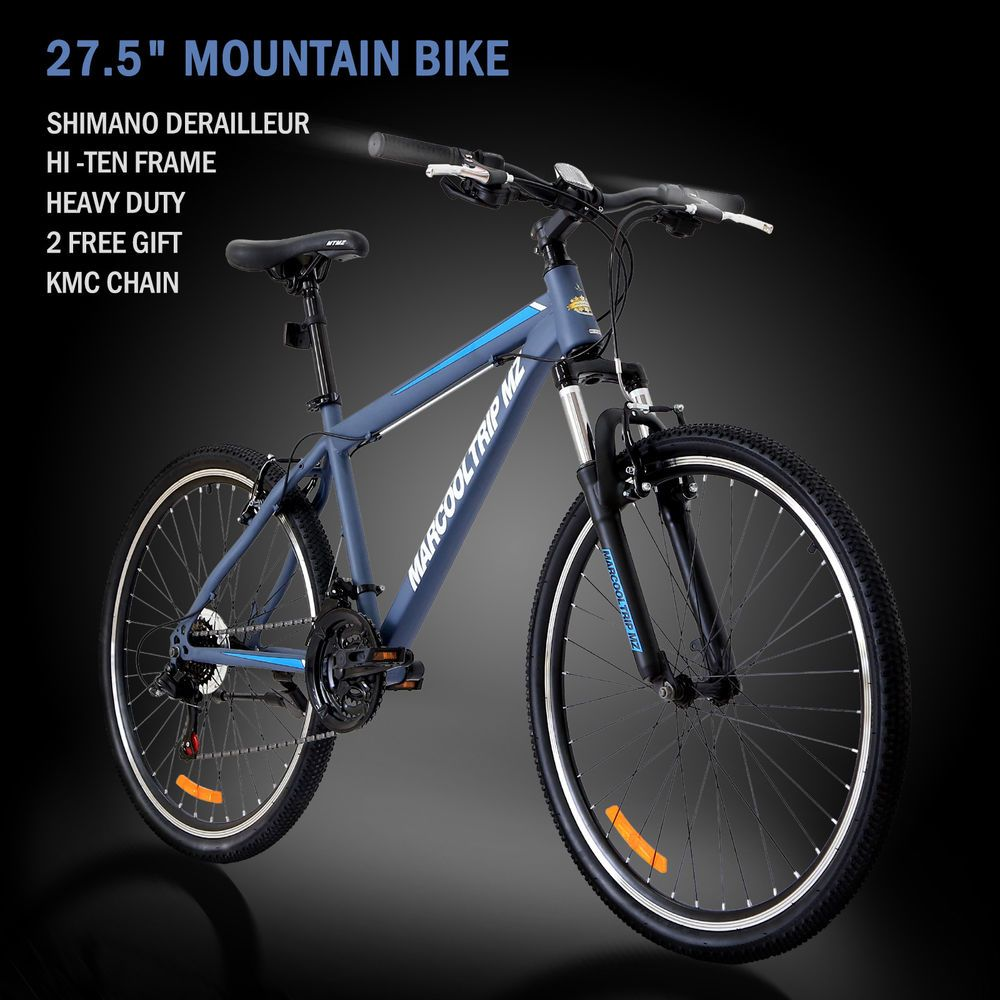 27 5 Men S Mountain Bike Shimano Hybrid 21 Speed Brake Suspension