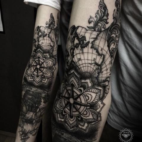 Baroque Tattoos Cool Tattoos Tattoos Tasteful Tattoos