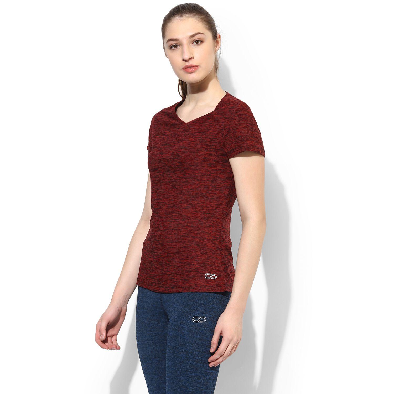 SILVERTRAQ WOMEN S V NECK T-SHIRT Shop Online in India Wicking Sportswear  Top. Women s 25cf9e9160