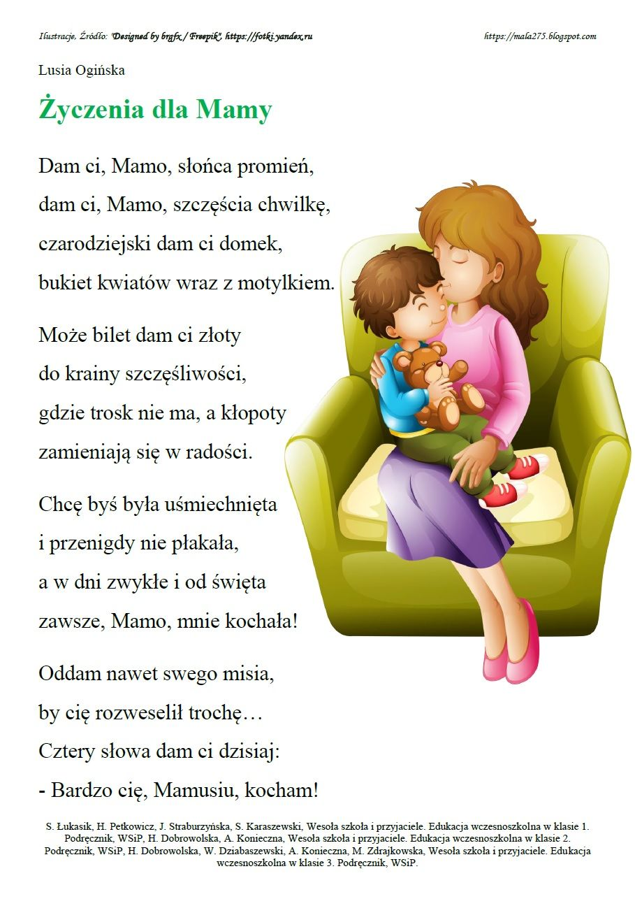 Blog Edukacyjny Dla Dzieci Dzień Mamy I Taty Preescolar