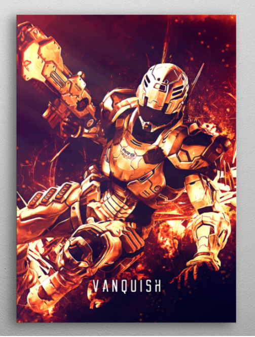 "Vanquish Poster #Displate explore Pinterest""> #Displate #RedBubble explore Pinterest""> #RedBubble #WallArt explore Pinterest""> #WallArt… | Displate thumbnail"