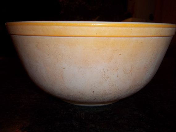 Faded Orange 403 Vintage Pyrex Nesting Mixing Bowl by PyrexKitchen ...