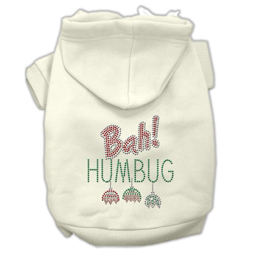 Bah Humbug Rhinestone Hoodie