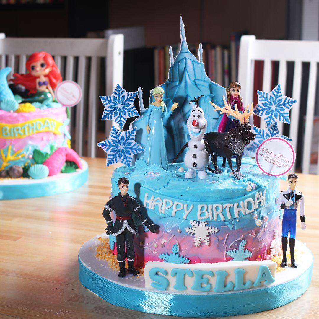 Pin Di Frozen Cake