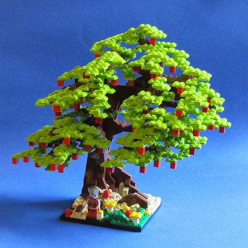 Apple Tree Lego Tree Lego Lego Modular