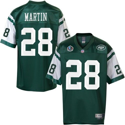 size 40 cb253 6d128 Curtis Martin New York #Jets Hall of Fame Jersey - $124.99 ...
