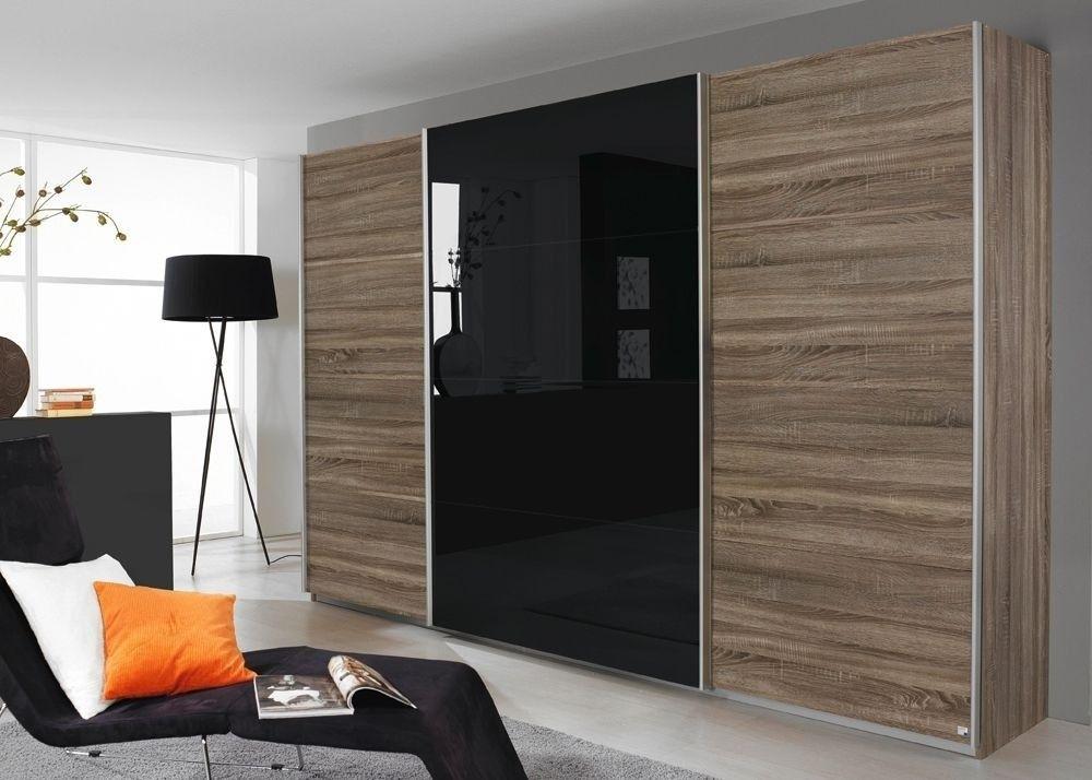 Schrank Quadra 315,0 cm Eiche Havanna Schwarz 8647 Buy now at - schlafzimmerschrank weiß hochglanz