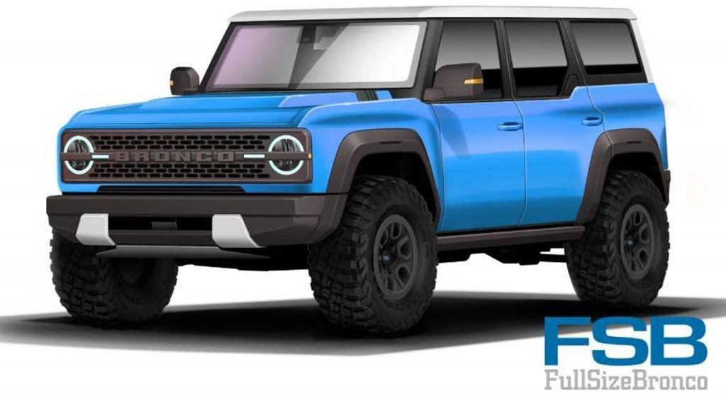 2021 Ford Bronco Here S Another Rendered Take In A Multitude Of