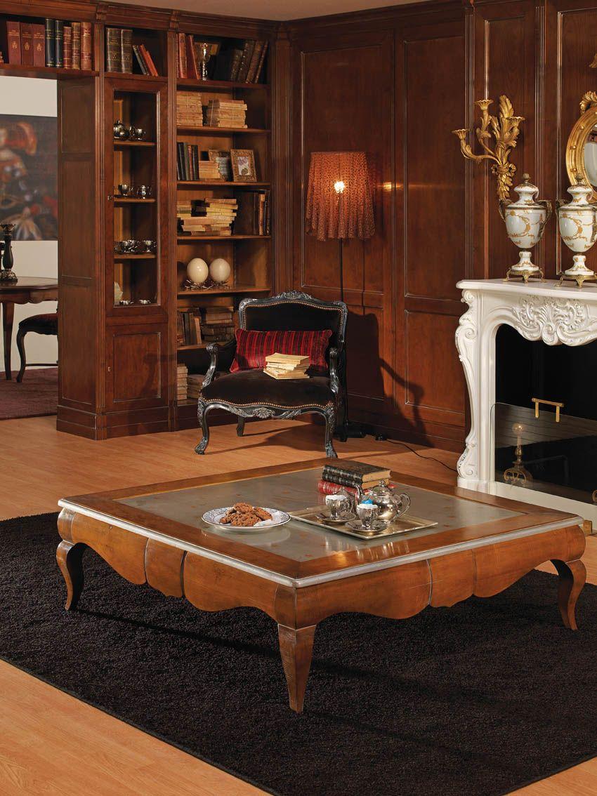Mesa De Centro En Color Cerezo Muebles Muebles Para Tienda Decoración Ecléctica