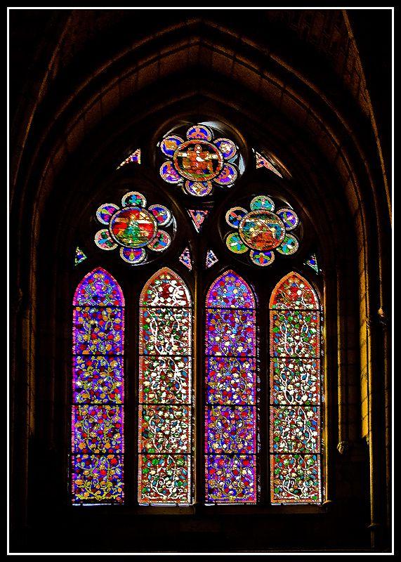 Vidrieras catedral de le n v i d r i e r a s - Vidrieras de colores ...