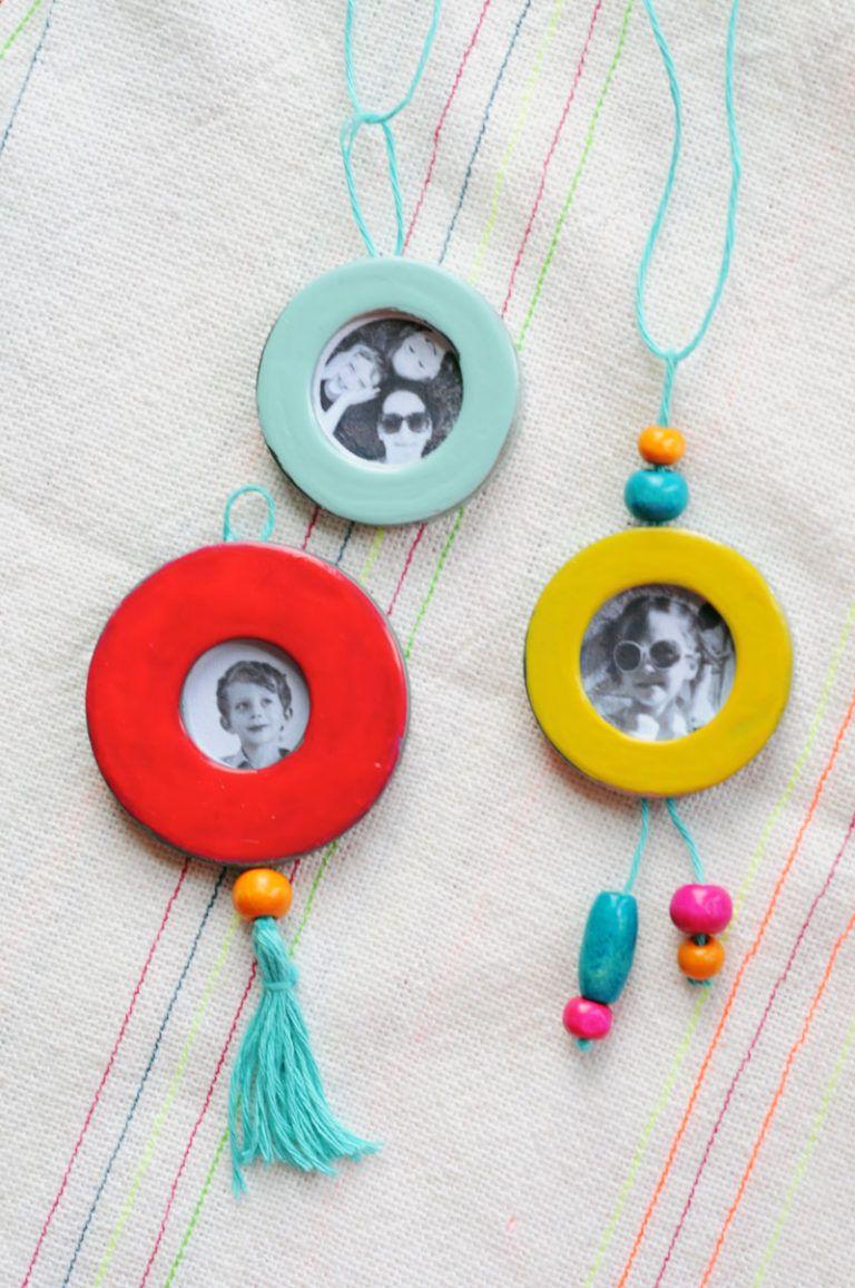 How to make a diy locket necklace craft lockets diy