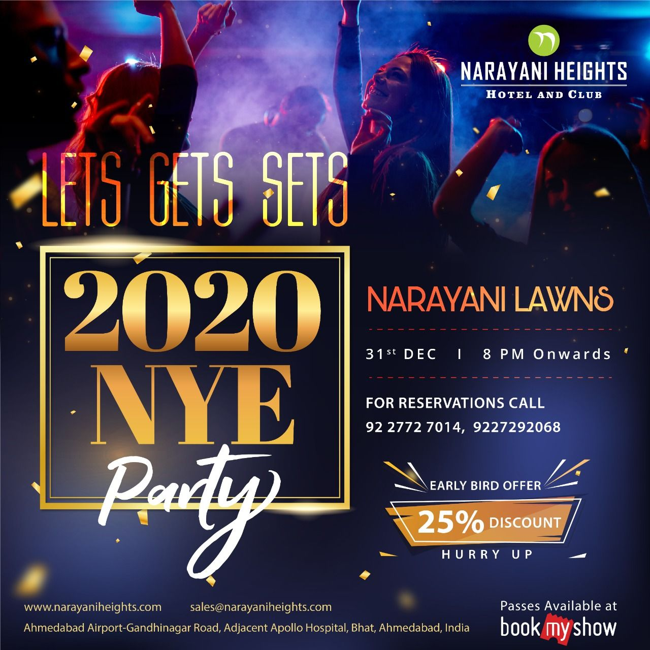 Time To Plan Your New Year Party Narayani Heights Presents 2020