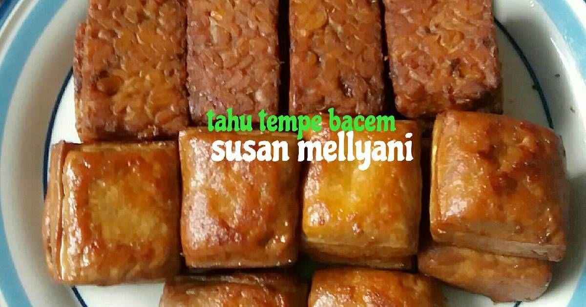 Resep Tahu Tempe Bacem Oleh Susan Mellyani Resep Resep Tahu Resep Masakan Makanan Dan Minuman