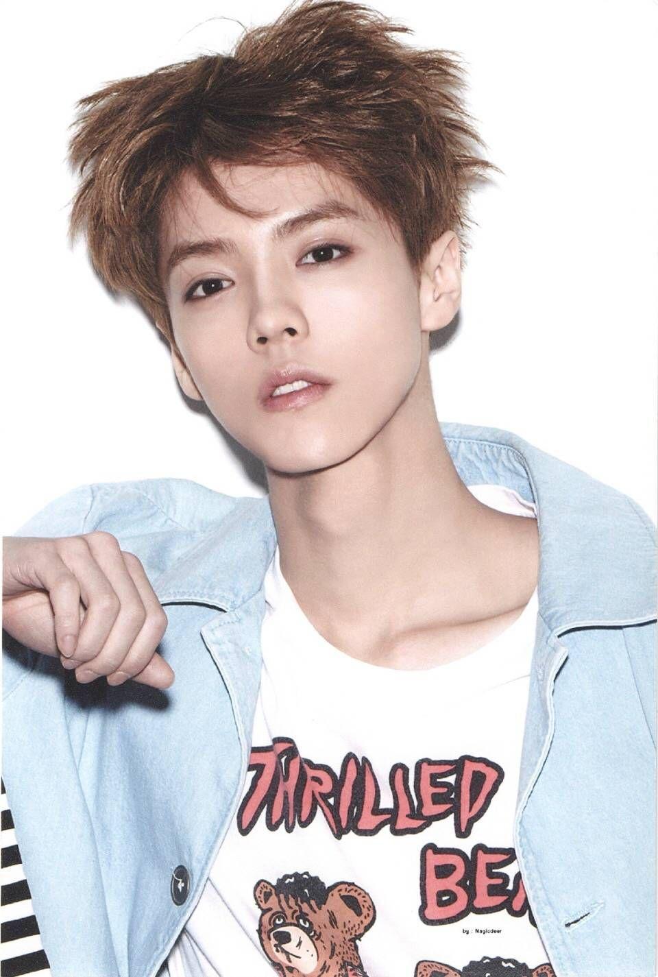 Official haircut for boys luhan 鹿晗 crlogo  kpop  pinterest  luhan kpop and exo
