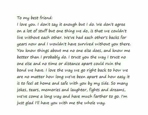 So Thankful For My Best Friend Birthday Quotes For Best Friend Dear Best Friend Letters