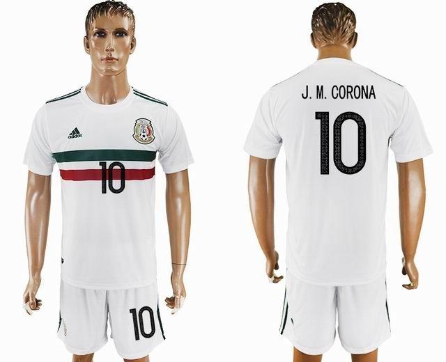 e7c67ac27 ... promo code for long sleeve shirt 2015 copa america mexico team white soccer  jersey away 00e29